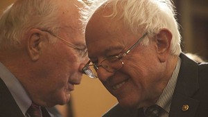 Sen. Patrick Leahy and Sen. Bernie Sanders