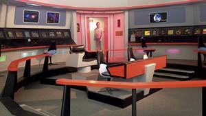 Re-creation of the Enterprise bridge