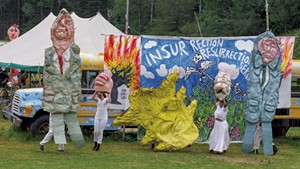 Bread and Puppet Theater in Glover