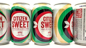 Citizen Sweet nonalcoholic sparkling cider