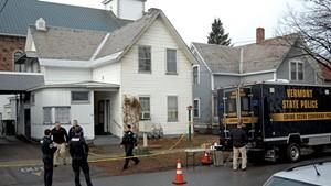 The scene of the shooting on Elmwood Avenue