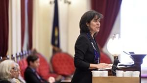 House Speaker Mitzi Johnson (D-South Hero)