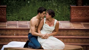 Nick Piacente and Lauren Pisano in Romeo and Juliet last summer