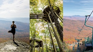 Outdoor Fall Adventures, From a Forest Canopy Walk to Foliage Lift Rides