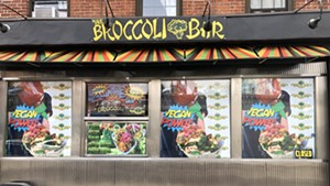 The Broccoli Bar in Brooklyn