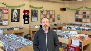 Greg Davis, owner of Autumn Records