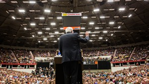 Sen. Bernie Sanders in Madison, Wis., in 2015