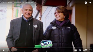 Republican Bruce Lisman has aired the election's first ad in the race for Vermont governor.