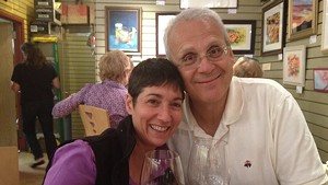 Renee Reiner and Mike DeSanto, owners of Phoenix Books