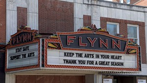 The Flynn marquee in March