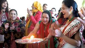 Saraswati Puja at the O'Brien Community Center