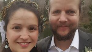 Wedding Announcement: John W. Spinney & Susannah K. Baumer
