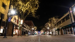 Church Street Marketplace earlier this year