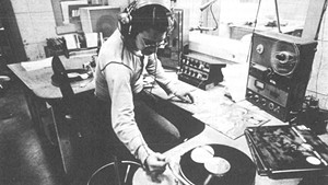 A WGDR-FM DJ in the mid-1970s