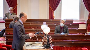 Inside the House chamber earlier this year
