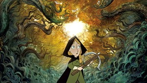 INTO THE WOODS A small girl ventures into a big forest and finds a delightfully un-Grimm fairy tale in Cartoon Saloon's latest.