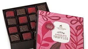 Vegan truffles from Lake Champlain Chocolates