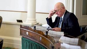 Sen. Norm McAllister in January