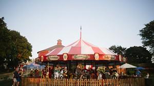 Carousel at Shelburne Museum