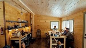 Chittenden Brook Hut
