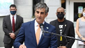 Mayor Miro Weinberger at an event last summer