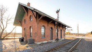 New Haven Train Depot