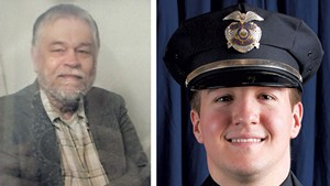 "Ralph ""Phil"" Grenon and Officer David Bowers"