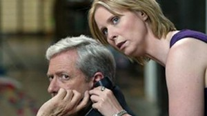 """Michael Murphy and Cynthia Nixon in """"Tanner on Tanner"""""""