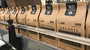 Vermont Coffee Company packaging line