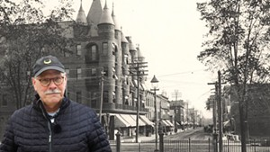 Bob Blanchard shares his love of Burlington history online
