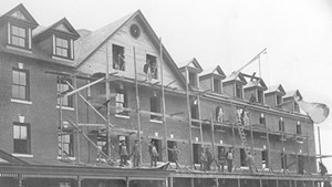 Founders Hall, Saint Michael's College, 1907