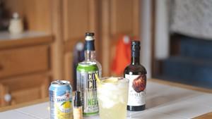Elder-Ginger-Lemon Spritzer