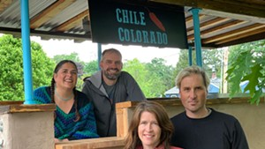 Chile North business partners (from left): Mara Welton, Spencer Welton, Carina Driscoll and Blake Ewoldsen