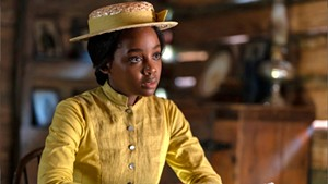 FREEDOM RIDER Mbedu plays a young woman fleeing from enslavement in Jenkins' masterful series.