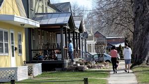 Burlington's Lakeside neighborhood