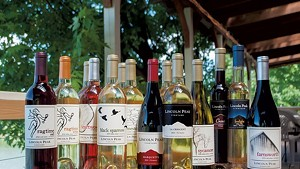 Lincoln Peak Vineyard's wines in 2017