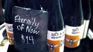 Lucy & Howe Brewing's the Eternity of Now