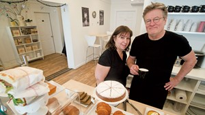 Annie Bakst and Robert Hunt