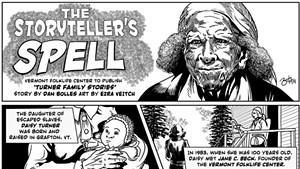 The Storyteller's Spell: Vermont Folklife Center to Publish 'Turner Family Stories'