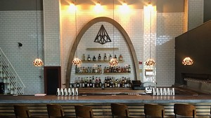 The bar at the Winooski location of the Archives