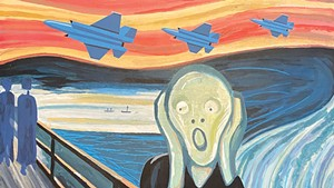 Sound Effects: In the F-35's Flight Path, Vermonters' Lives Have Changed