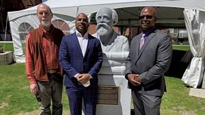 From left: Don Ramey, Robert Dennis and Mark Burnett
