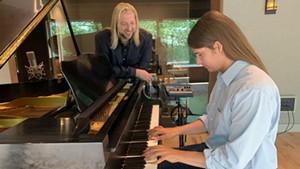 Joshua Sherman and Benjamin Lerner at Old Mill Road Recording