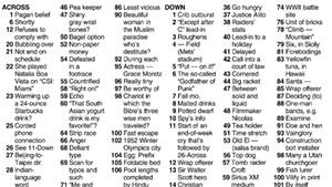 Crossword: 'I Will Go On' (7/28/21)