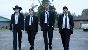 """Well Suited Four outstanding actors play a not-so-scary teen gang in Harjo and Waititi's series about life on the """"rez."""""""