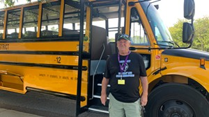 Steve Rexford has been driving buses at South Burlington School District for 13 years