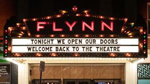 The Flynn marquee