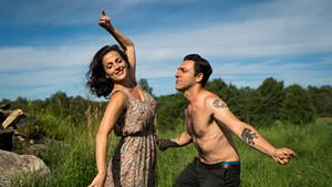 Nicole Ansari and Arash Mokhtar in Sinners