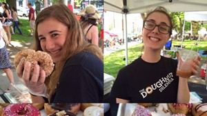 Doughnut Dilemma and the Burlington Farmers Market
