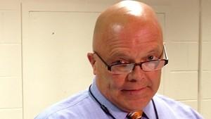 Burlington School Board chair Mark Porter